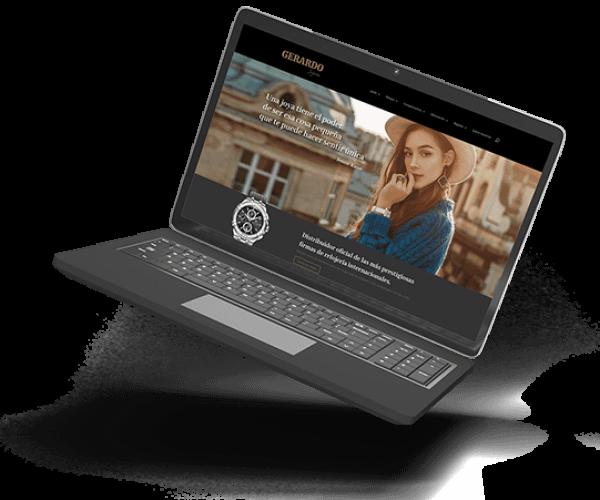 joyeria gerardo baja resolucion diseño web